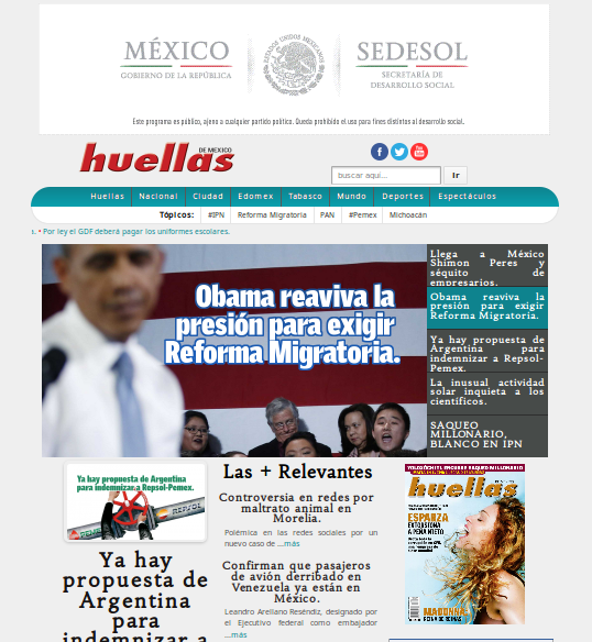 Revista Huellas